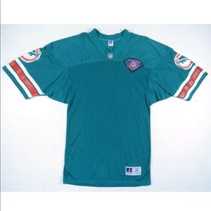 Vintage 90s Miami Dolphins 1994 Russell Jersey